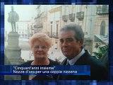 Cinquant'anni insieme. Nozze d'oro per una coppia nissena