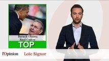 """Le Top Flop: Rencontre historique entre Barack Obama et Raul Castro / Rachida Dati invitée """"aux aurores"""" sur I>Télé"""