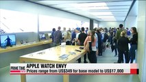 Apple teases smartwatch at stores worldwide