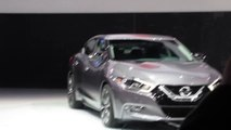 2016 Maxima reveal with Nissan CEO Carlos Goshn at the 2015 NYC Auto Show. Bob Giles NewCarNews.TV Video