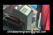 how to set the parameter to use rotary device,China laser engraving machine