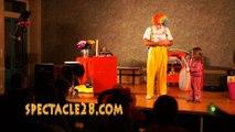 clown MAGICIEN  ANDARDPELLOUAILLES LES VIGNES  LE LOUROUX BECONNAISLA MEIGNANNE  LE PLESSIS GRAMMOIRE MOZE SUR LOUET