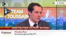 """TextO' : Stéphane Ravier : """"Jean-Marie Le Pen ne s'inscrit plus dans une démarche politique, il met en péril le mouvement qu'il a créé."""""""