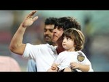 Shah Rukh Khan Brings Abram Along To Watch His First IPL Match