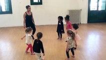 Jade à l'Ecole de danse