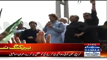 19 April Ko Jinnah Ground Jalse Ke Liye Chota Par Jaega:- Imran Khan Speech In Karimabad - 9th April 2015