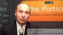 Interview de Sébastien Brisé, Co-fondateur de Côté Particuliers