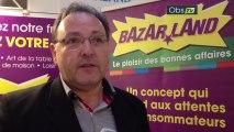 Interview de Pierre-Yves Boyron, de la franchise Bazarland, sur le salon Top Franchise Méditerranée 2013