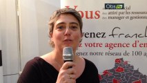 Interview de Valérie Courtois, franchisée Temporis à Aix-en-Provence, sur le salon Top Franchise Méditerranée 2013