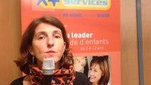 Interview de Claire Lanneau, BabyChou Services, au Forum de la Franchise de Lyon