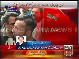 MQM Workers Attacking PTI Workers At Jinnah Ground
