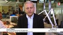 TV5Monde : Yves Bigot «pense savoir» comment les pirates les ont attaqués