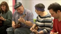 Master-class avec The Ukulele Orchestra of Great Britain