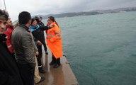 Sarıyer'de Sahilinde Otomobil Denize Uçtu