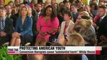 Obama calls for end to gay conversion therapies