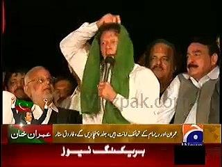 I will give my shawl to Imran Khan if he won by-election from Karachi: Mehmood Achakzai
