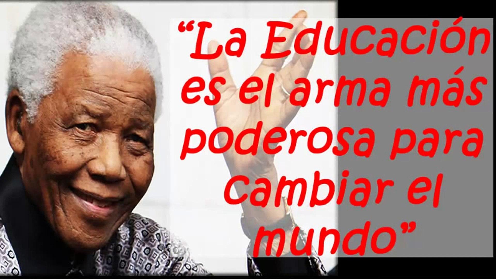 10 Frases Celebres E Imperdibles De Nelson Mandela Frases Y Reflexiones Motivadoras Y Famosas