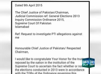 Najam Sethi sent letter to Judicial Commision to investigate allegations against him