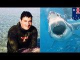 ATTAQUE DE REQUIN: Un grand requin blanc attaque deux ados en train de pêcher
