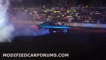 BLWNLJ burnout at Burnouts Unleashed 2014
