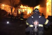"""Chicago Fire  2nd Alarm-Fully Involved House """"Fire Blowing out of The House"""""""