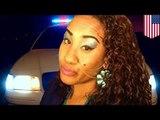 NUIT D'IVRESSE: Une femme ivre tente de voler une voiture de police avec deux agents à l'intérieur.