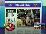 THE 1990S CHICAGO BULLS NBA CHAMPIONSHIPS RECAP 1991 92 93 95 96 97 WGN