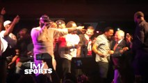 Patriots owner Robert Kraft getting on the stage and turning up with Rick Ross -- EPIC!!!