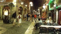 LIONE vieux Lyon la nuit ** rhone-alpes france **