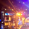 Hamza ali abbasi in hum tv awards in dubai