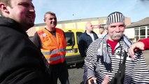 Feignies: les salariés de Stibus soutiennent ceux de Sambre et Meuse