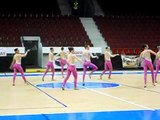 EC TWIRLING NBTA - CECK REP. 2011 - TEAM TWIRLING JR ITALY 3rd PLACE