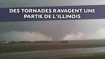 Des tornades ravagent une partie de l'Illinois aux États-Unis