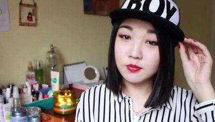 미쓰에이 수지 MLB 에디토리얼 홑꺼풀 메이크업 | Miss A Suzy MLB Editorial Monolid Makeup Tutorial