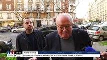 Jean-Marie Le Pen rigole de sa situation
