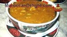 Moroccan soup harira - الشربة المغربية -الحريرة بالطريقة الأصيلة - soupe marocaine -Harira