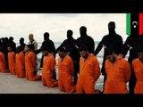 エジプト人キリスト教徒21人斬首 ISIS空爆で報復