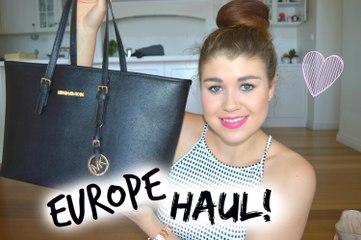 Europe Haul 2014 | Primark, Zara, Boots & Micheal Kors Handbag