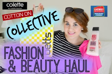 Collective Fashion & Beauty Haul | ft. Cotton On, Dotti, Chemist Warehouse, Colette & more