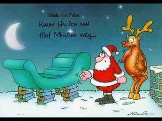 Potpourri der lustigsten Weihnachtscartoons