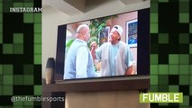 """LeBron James Gets Emotional While Watching """"The Fresh Prince of Bel-Air"""""""