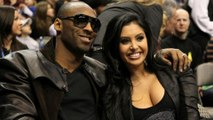 Kobe Bryant's Wife Vanessa Shows Her Basketball Skills at Staples Center