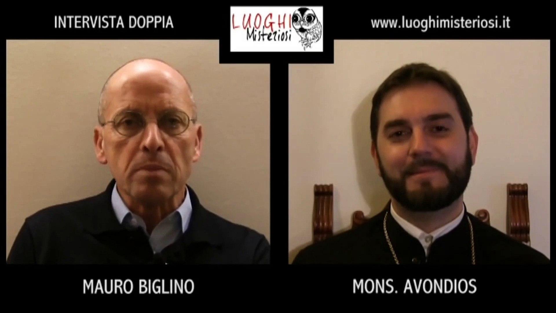 Intervista doppia Mauro Biglino - Monsignor Avondios
