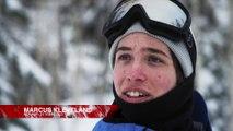 Marcus Kleveland Backcountry Snowboarding in Fresh Powder