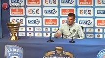(Finale CDL) Bastia / PSG - La conférence de presse de Nicolas Douchez