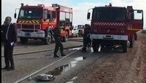 Maroc : un autocar prend feu lors d'une collision et fait  33 morts, dont de jeunes sportifs