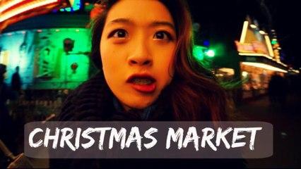 VLOG/ 迷幻聖誕 / Christmas Market + OOTD : 迷幻聖誕