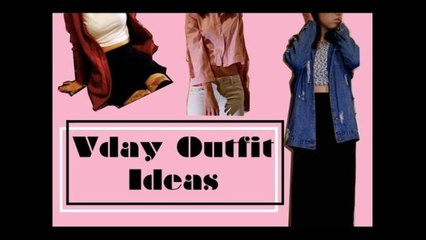 Valentines Day Outfit Ideas ✿ 情人節服裝小建議