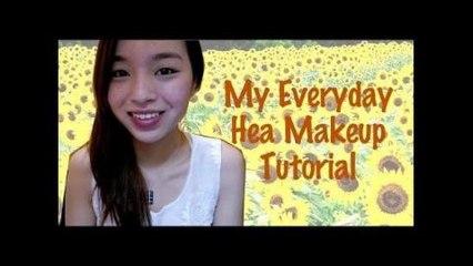 我的每日Hea妝 ✿ My everyday makeup (Hea ver.)