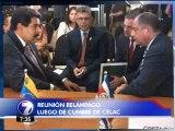 Presidente Solís sostuvo un encuentro con Nicolás Maduro